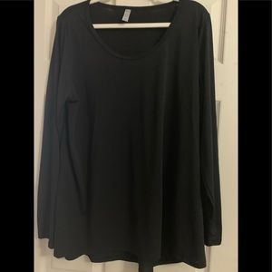 Plus size lynnae top new no tags black